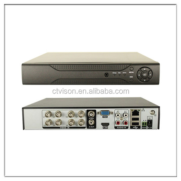 high quality 8 channel dvr competitive price CCTV Security Surveillance System Digital Video Recorder