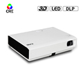 2017 Christmas Promotion DLP multimedia portable projector 1080p full HD LED HDMI home cinema tv video movie office projector