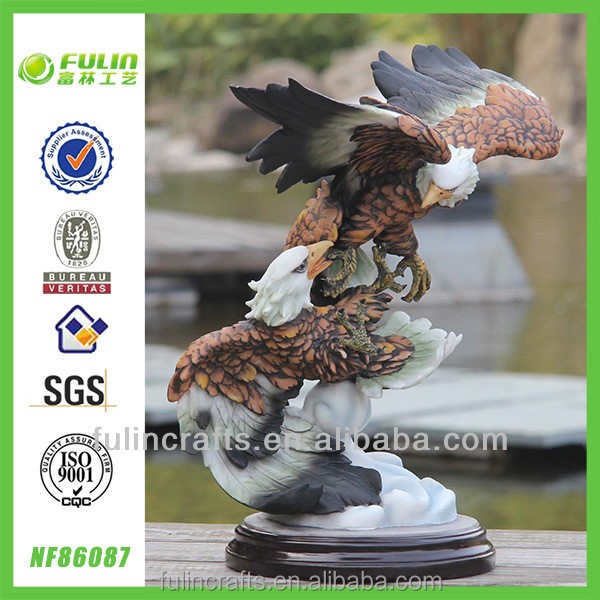 Home Tabletop Resin Eagle Sculpture