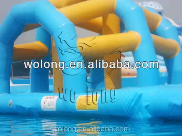 cheap giant inflatable water toys, outdoor obstacle course equipment, sport inflatable water obstacle for sale !!!
