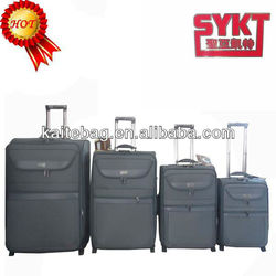 2013 black newly design cute eminent fashion branded mini rolling men luggage valise