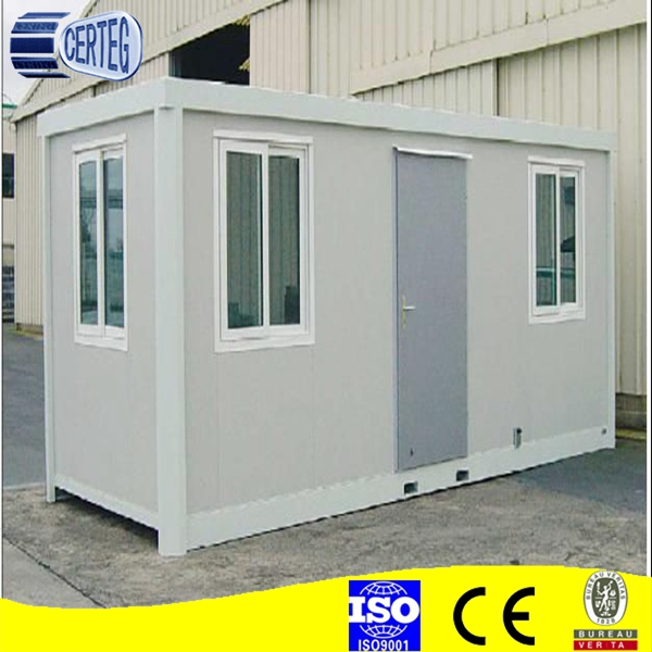 Low cost prefab container house/ Moduar flat pack contaner home/ garden storage house