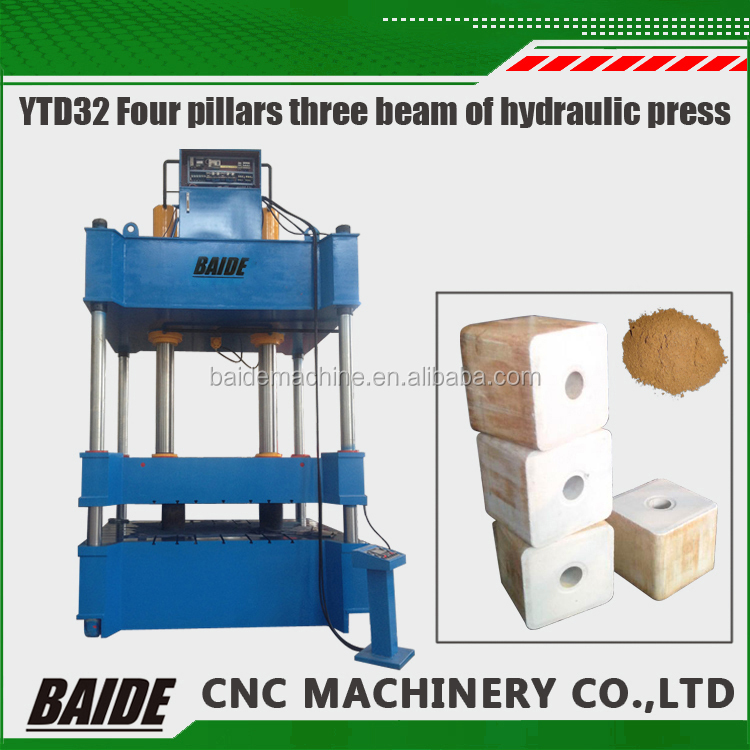 Factory direct sales YTD-32 four columns Column Hydraulic Punch Press for steel material imprinting