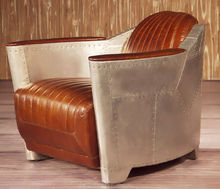 Vintage design furniture Leather Sofa Chair