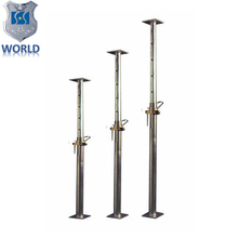 Steel Props For Construction Light Duty Props Adjustable Metal Support Poles