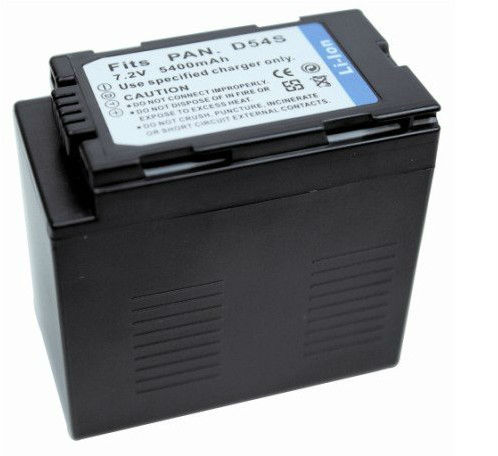 High capacity Replacement Video camera battery for Panasonic CGR-D54
