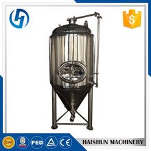 Stainless steel 500l 1000l 2000l beer conical fermenter