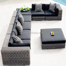 Hot Sale Sofa Set Alibaba Outdoor Poly Rattan Furniture Garden Furniture