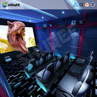 4D 5D 7D 9D Motion Chair Theater, Cinema Theater Equipment for Sale , Virtual Reality World