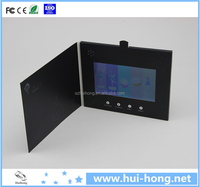high definition hot sale lcd mp4 player video greeting card