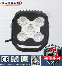 light for Die-cast aluminum housing led material 50w led car light working lamp