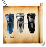 electric shaver for men 4 blade rechargeable shaver with hair trimmer