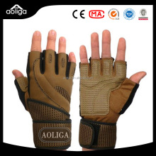 factory Wholesale sports fitness gym gloves with OEM and ODM