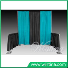 Portable Standard Pipe And Drape Booth Exhibition