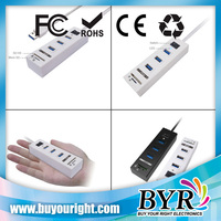 USB3.0 super Combo hub with 3 usb port and 2 slots card reader
