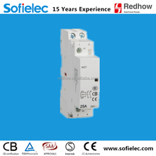 factory make 2NO type contactor 2 pole 25a for household use