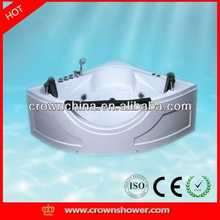 2014 New design indoor portable massage bathtub cheap whirlpool controller