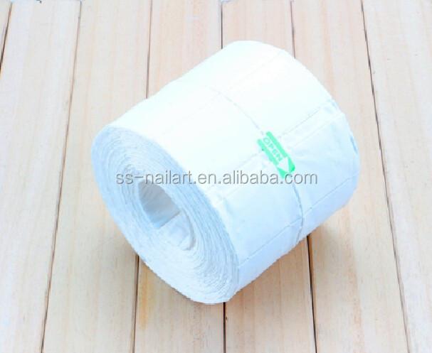 Vente chaude 500 pcs lint livraison 12 couches nail essuyer papier