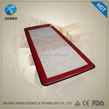 Natural Gemstone Tourmaline and Ceramic Stones Heating PEMF Therapy Bed Mattress