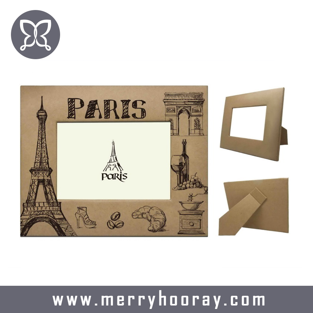 Factory cheap paper photo frames on sale