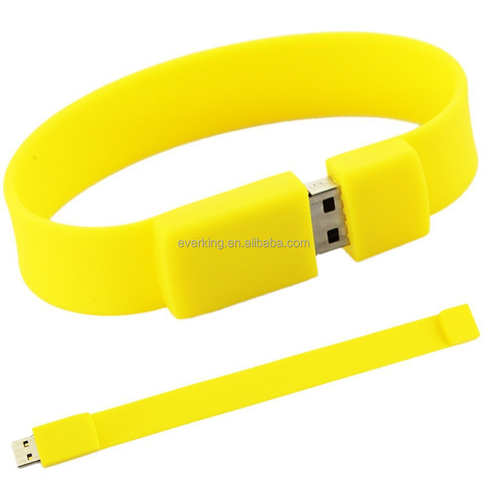 Hot Selling Wrist Band/bracelet USB With Logo 3.0 Flash Drive Manufactuere