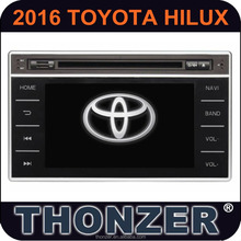 CAR DVD player for 2016 2015 Toyota Hilux Revo GPS navigation system