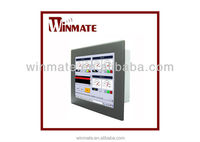 Winmate 17 inch with Mini-ITX Form Factor Suport Embedded 8 / 7 Industrial Panel Mount Panel PC