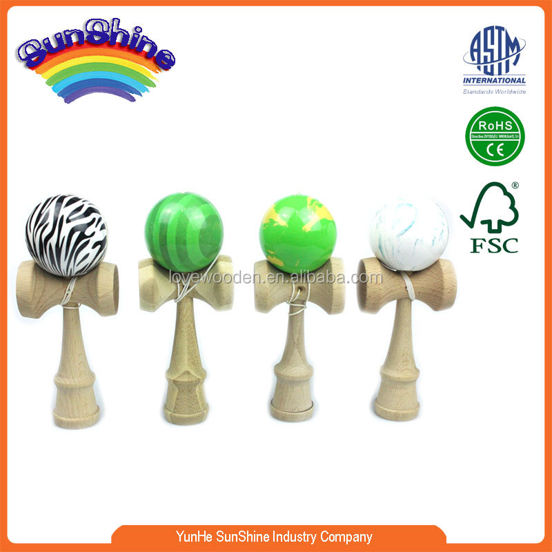 High Quality Jumbo kendama ,2015 plain wooden kendama toys, Hot Sale wooden kendama toys