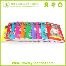 2016 large quantity free design full color cover Heidelberg cmyk printing english comic book