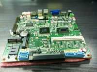 thin client motherboard Intel i5-3210/2410M i5 processor mini laptop with 1*Mini-PCIE socket for WIFI/3G