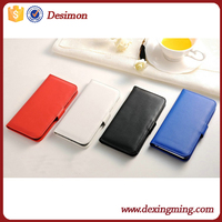 For iphone 6s leather cover case 2015 Hot New Desimon stylish Magnetic flip protector