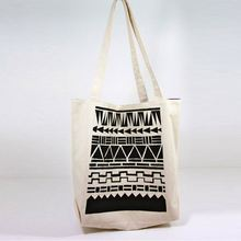 New Cotton Canvas Wine Tote Bag With Logo Printing