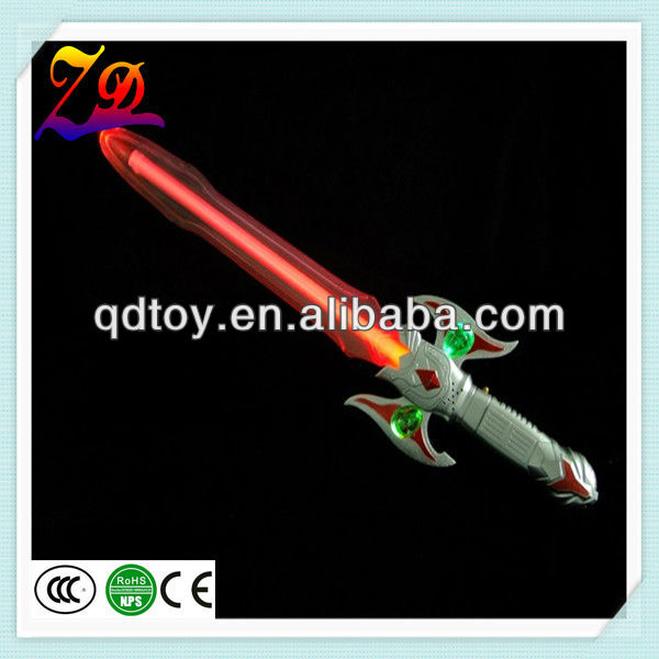 plastic led flashing swords toy for wholesale