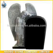 UK Design Granite Angel Headstone