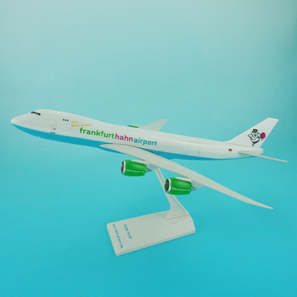 B747-8 37cm 1:200 scale used cargo airplanes