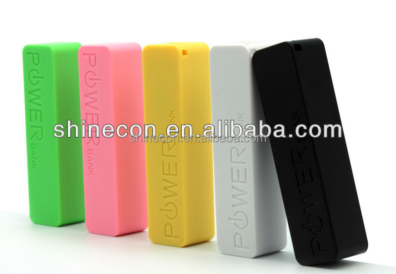 big capacity murah keychain 2600mAh power bank for hp