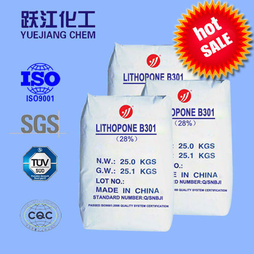 High quality lithopone ZNS 28%-30% for coating