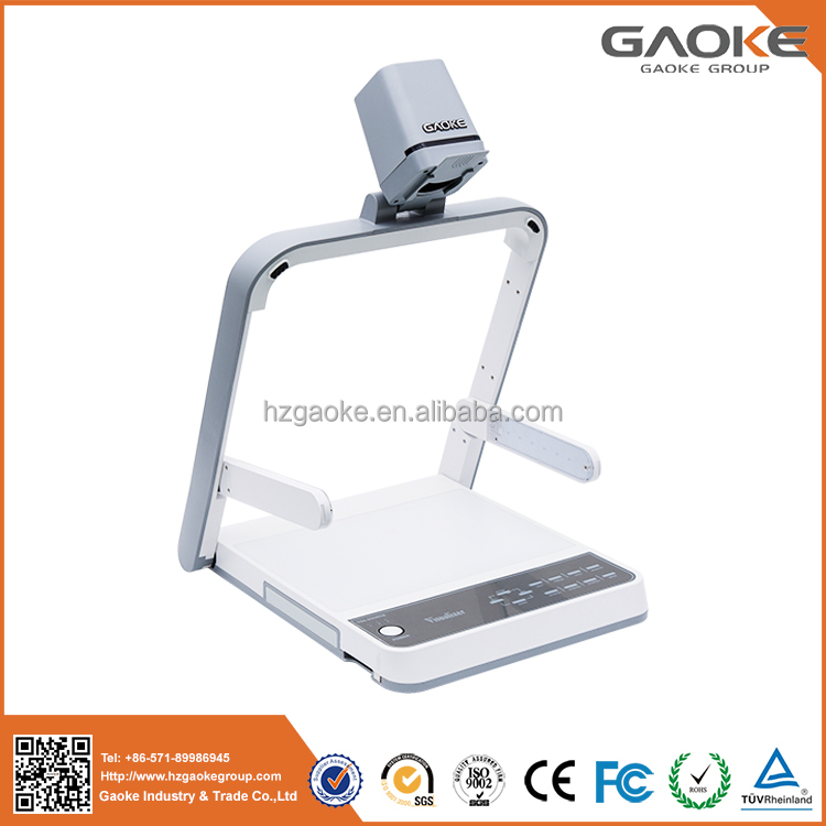 No need PC built-in android system wifi visual presenter smart document camera interactive visualizer hangzhou manufacturer