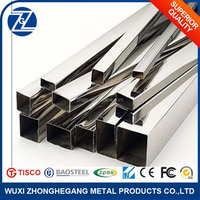 China Alibaba 316 Stainless Square Seamless Steel Pipe with Best Price