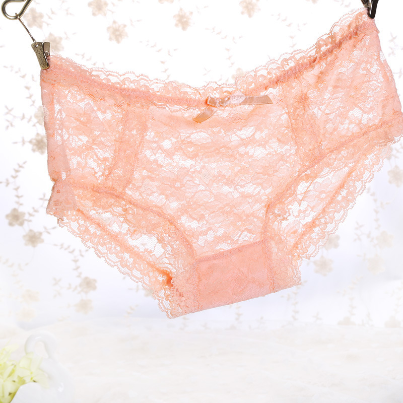 Rongrong High Quality Womens Sexy Underwear Lace Panties