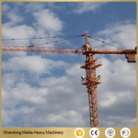 Lowest Price 6ton Tower Crane For Sale with High Quality Q345B Jointbar
