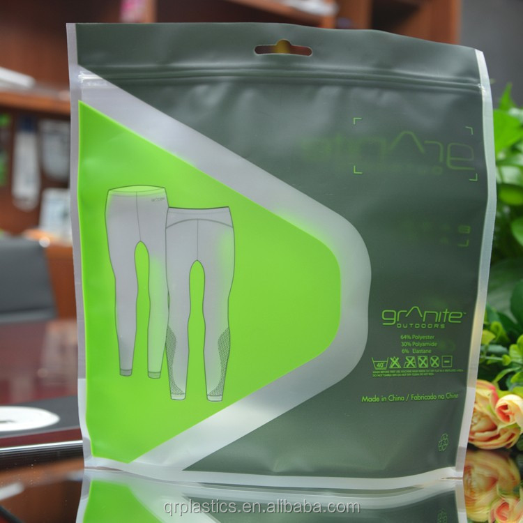 Wholesales customized plastic packaging bag for clothes