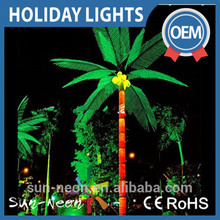 High simulationled led coconut light artificial coconut palm tree ramadan decoration light