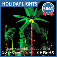 Led Coconut Tree Light Artificial Coconut