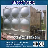 304 Food Grade Water Storage Tank 20000 Liter with Skilled Welding Technology Solution