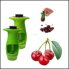 2016 Newest Fruit Tool Olive and Jujube Seed Removing Pitter Handheld Cherry Stone Remover