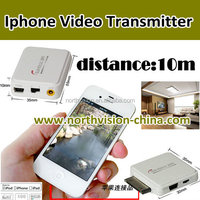 iphone wireless video sender, transmit video from mobile phone to TV by wireless