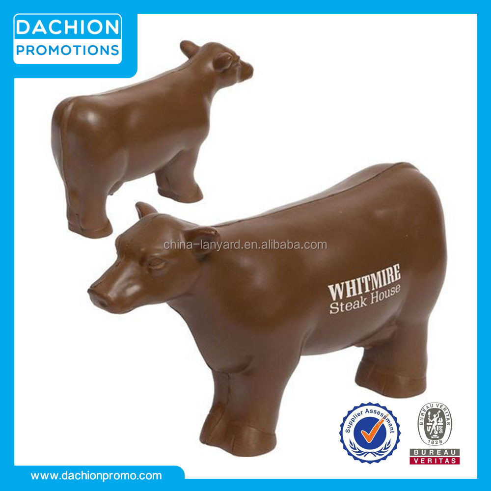 Custom Beef Cow Stress Ball/Beef Cow Stress Toy/Beef Cow Stress Reliever