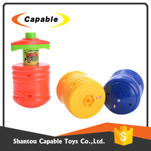 online shopping eco friendly light music toys plastic spinning top for selling