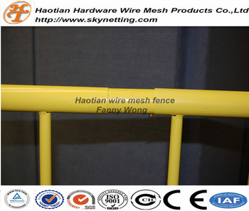 Hot sale pedestrian barriers ,used crowd control barriers,crowd control barricade and steel barricade